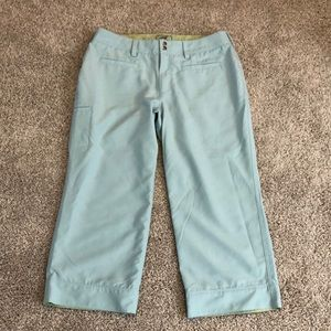 """30"""" waist Baby blue capris by Horny Toad"""